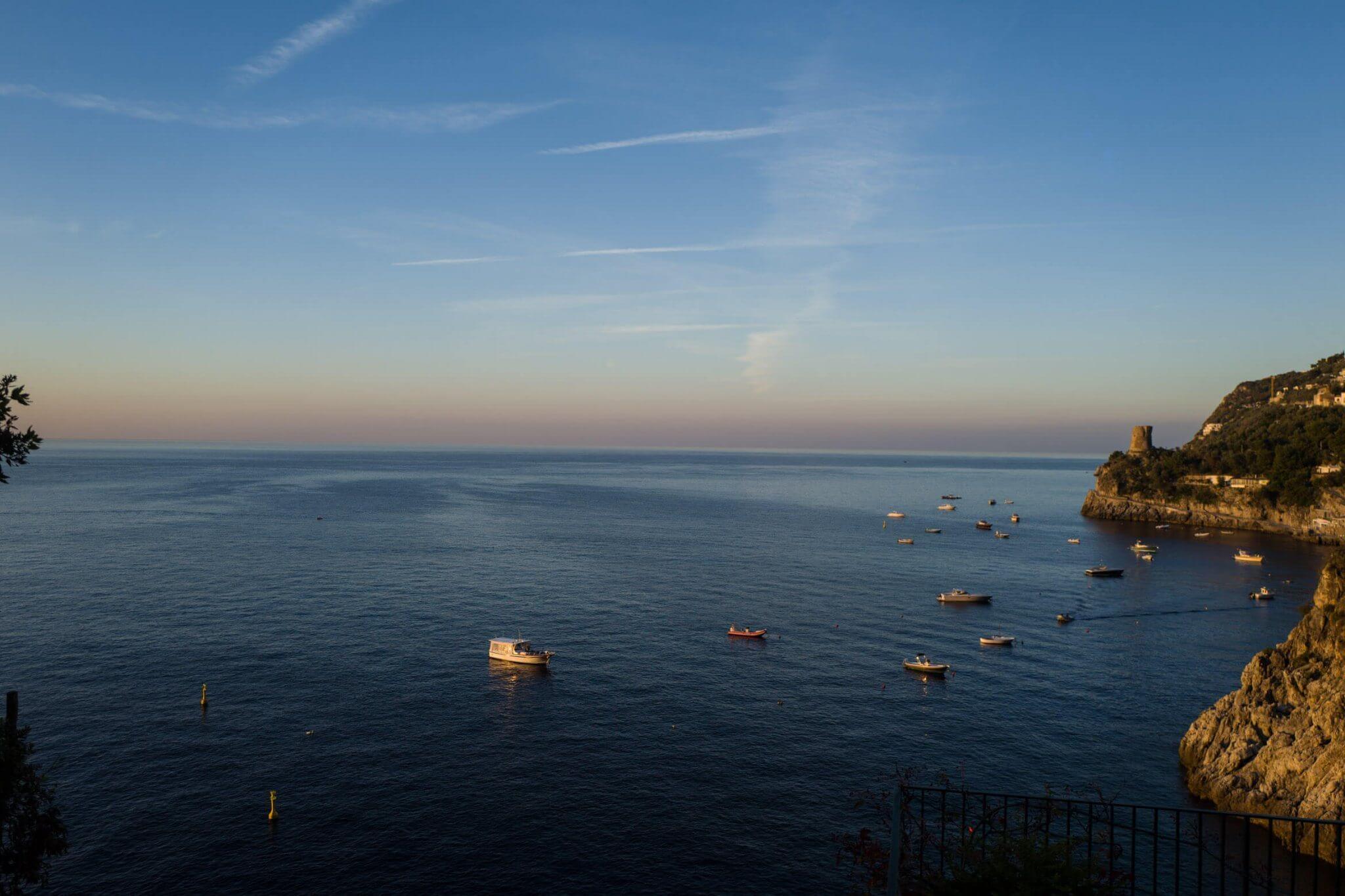Villa la Madonnina: sea view