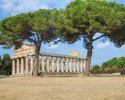 Paestum Greek temple