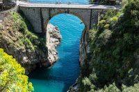 Hike Madonnina St. Elia Fiordo bridge