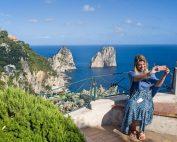 Capri Faraglioni islands