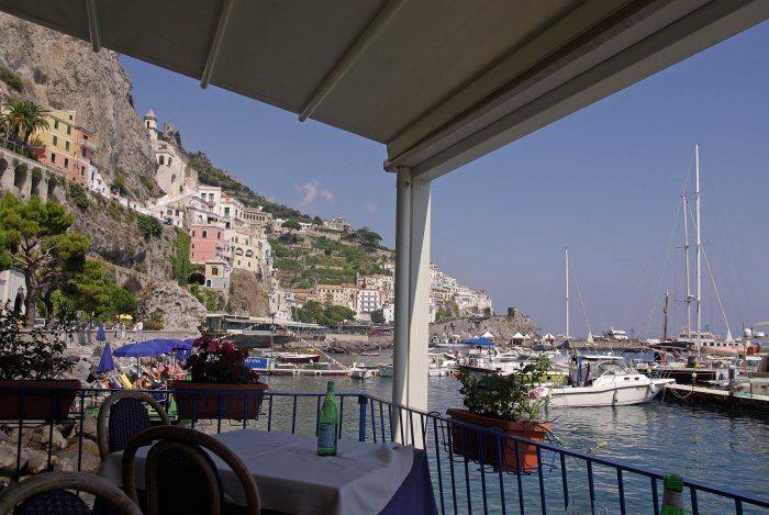 Amalfi restaurant Lido Azurro