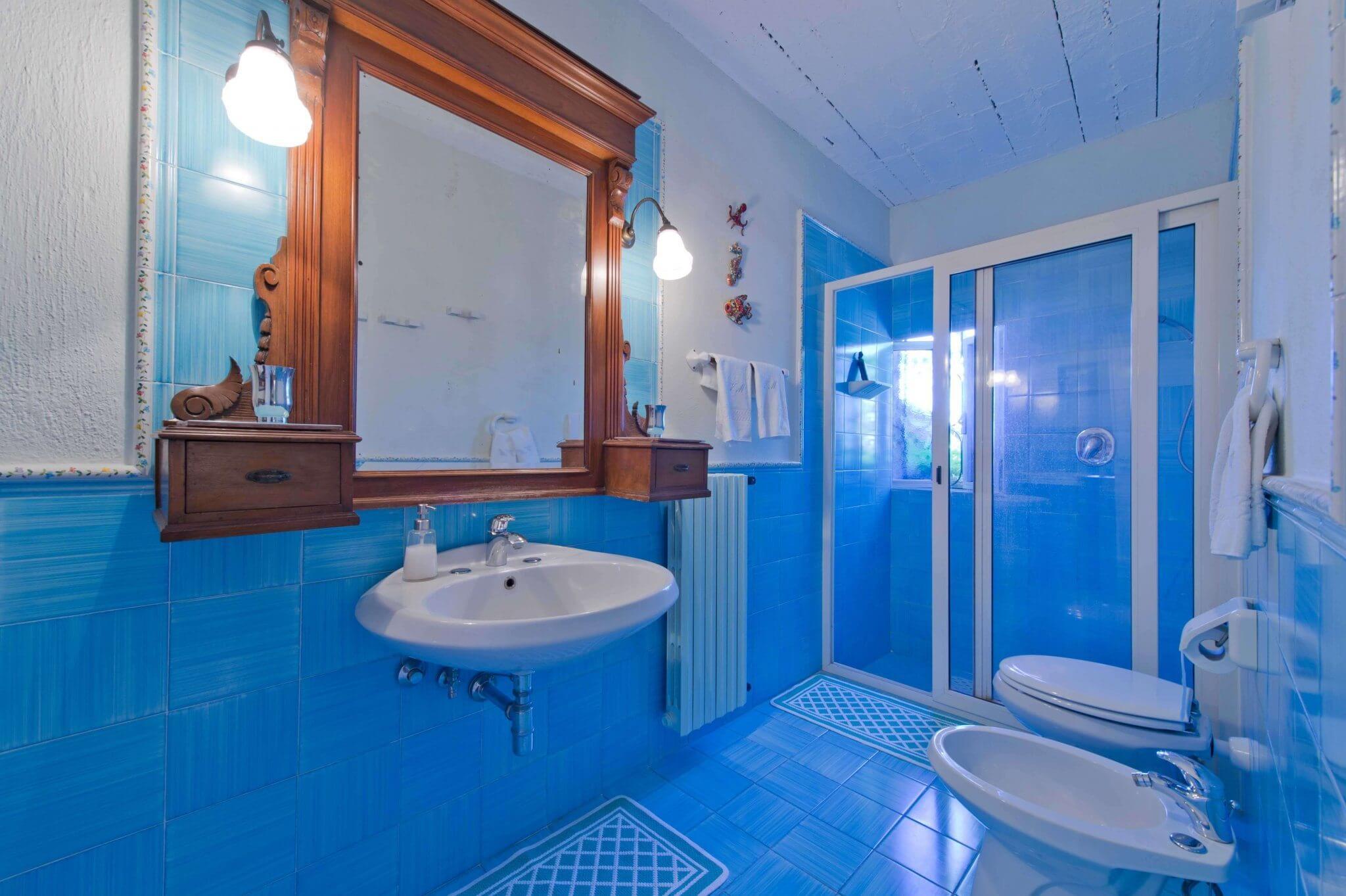 inside bathroom Nautilus