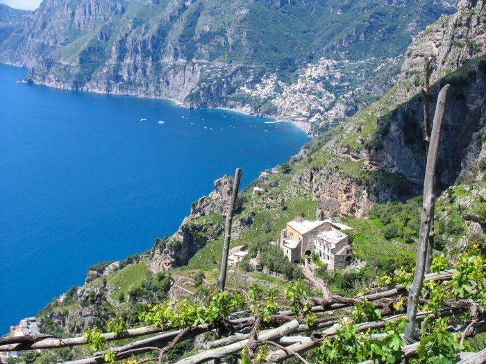 Hike sentiero degli Dei monastero San Domenico